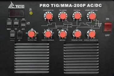 Сварочный инвертор ТСС PRO TIG/MMA-200P AC/DC