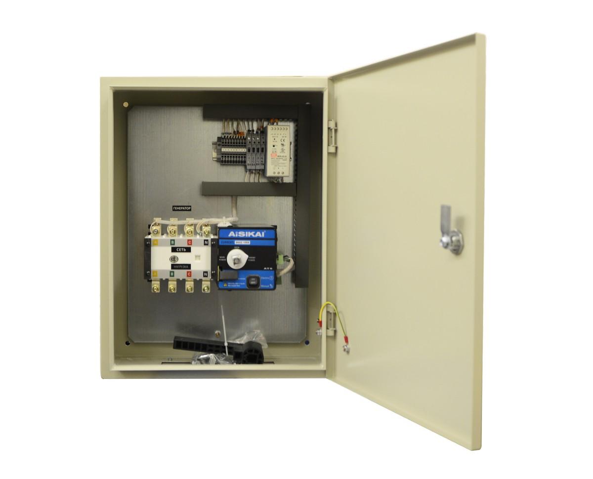 Блок АВР 30-50 кВт ПРОФ (100А)