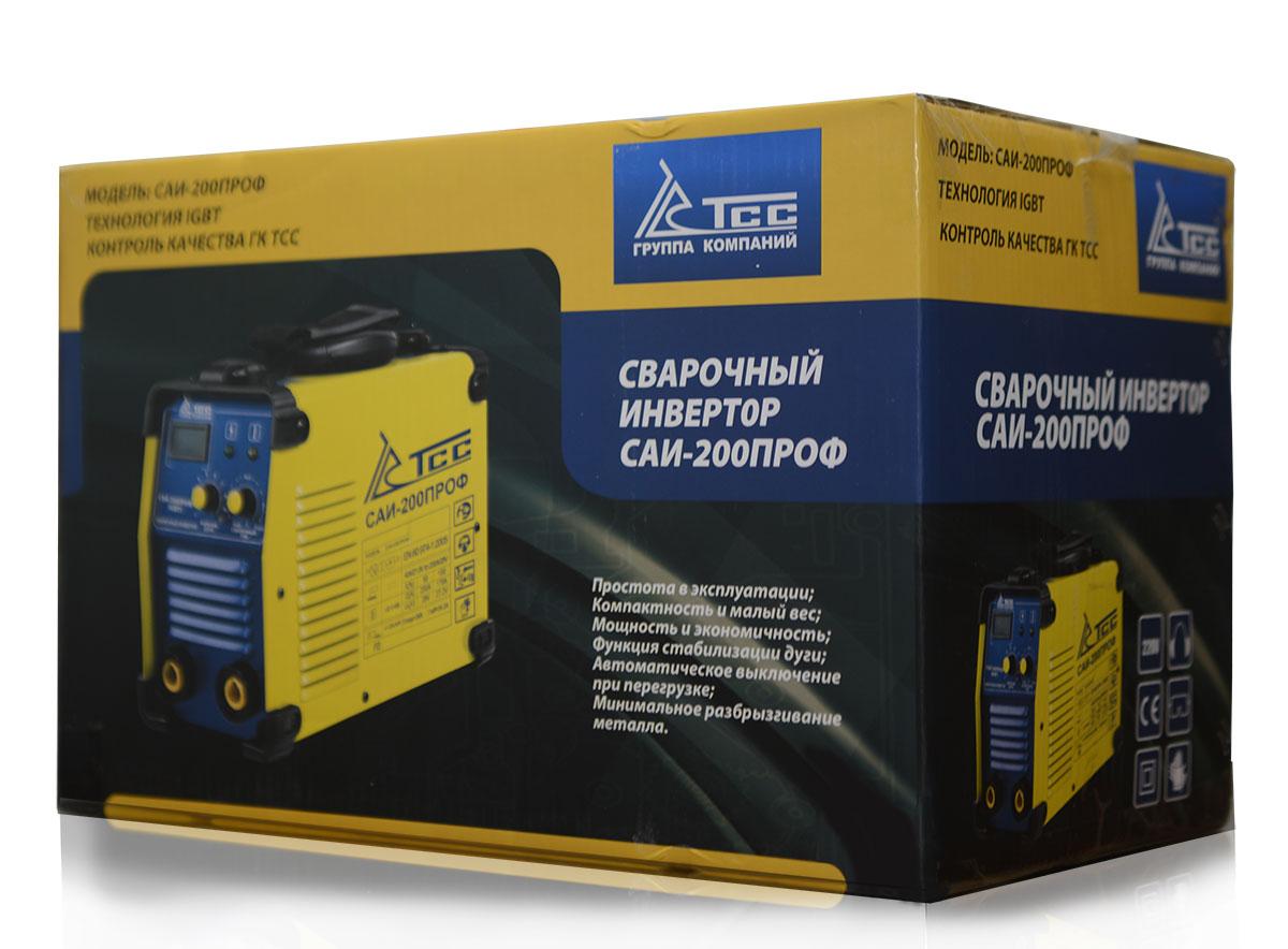 Сварочный инвертор ТСС САИ-200ПРОФ