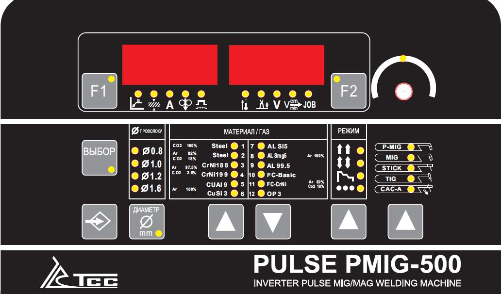 Сварочный инвертор ТСС PULSE PMIG-500