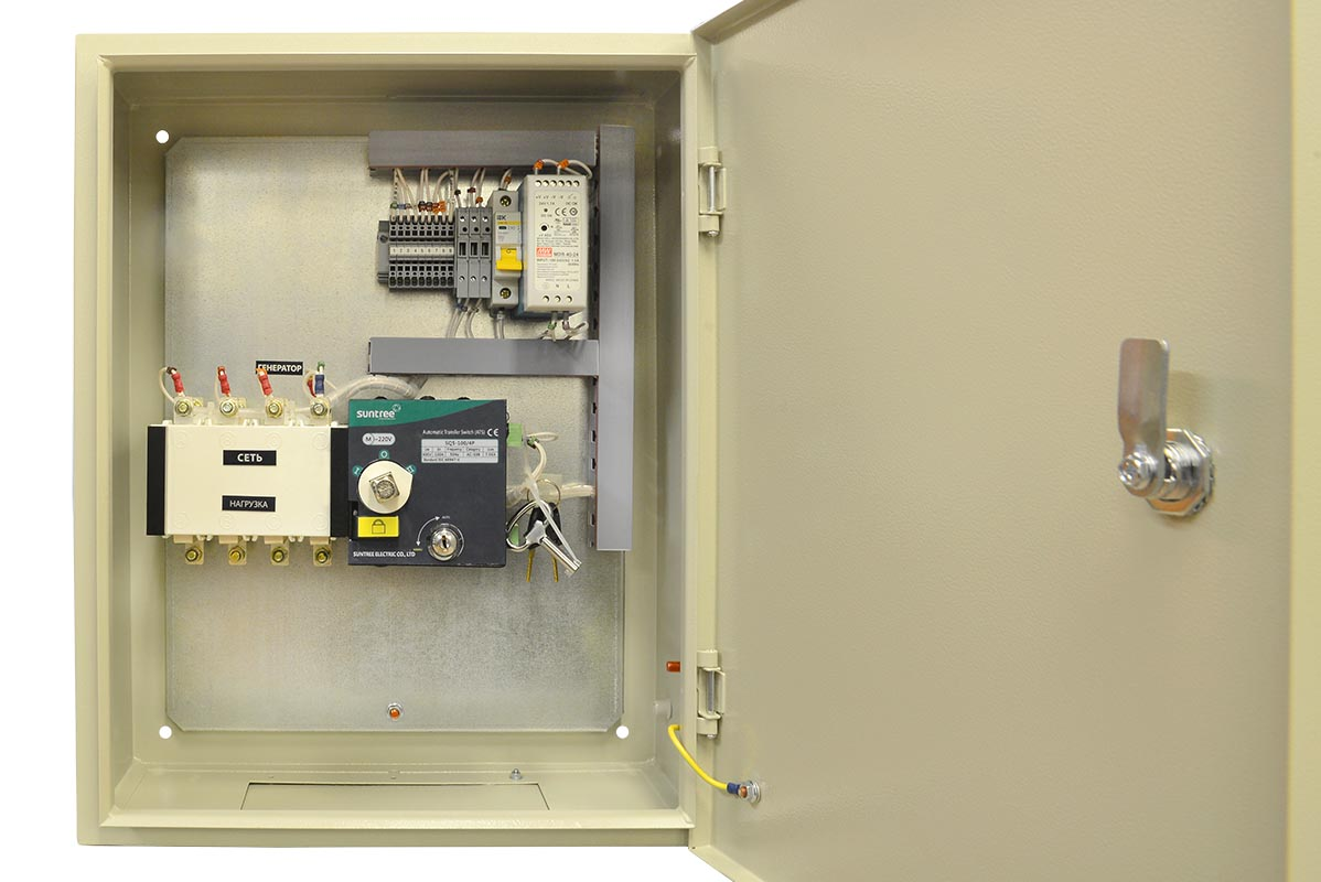 Блок АВР 70-80 кВт СТАНДАРТ (160А)