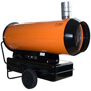 Тепловая пушка дизельная непрямого нагрева ПрофТепло ДН-80Н апельсин