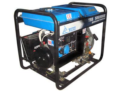 Дизельный генератор TSS SDG 5000 E