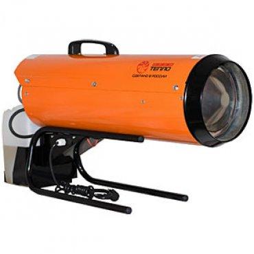 Калорифер дизельный прямого нагрева ПрофТепло ДК-14ПК апельсин