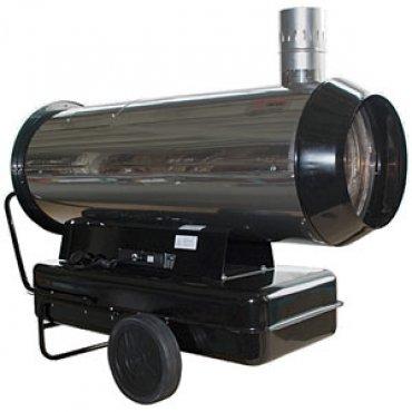 Тепловая пушка дизельная непрямого нагрева ПрофТепло ДН-80Н нержавейка