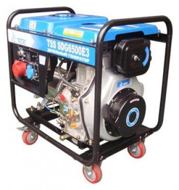 Дизельный генератор TSS SGD 6500E3