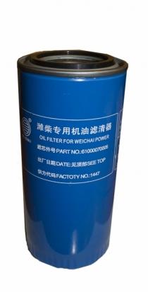 Фильтр масляный HOWO Евро-2, SHAANXI F3000, F2000, FOTON WD615, WP10