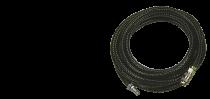 Шланг с фитингами рапид маслостойкая термопластичная резина 20бар 6x11мм 20м