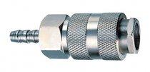 Fubag Разъемное соединение рапид, елочка 10мм с обжимным кольцом 10х15мм