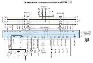 Контроллер SMARTGEN HGM-6120