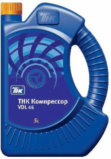 Масло компрессорное ТНК VDL 46. 5л