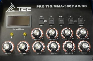 Сварочный инвертор ТСС PRO TIG/MMA-300P AC/DC