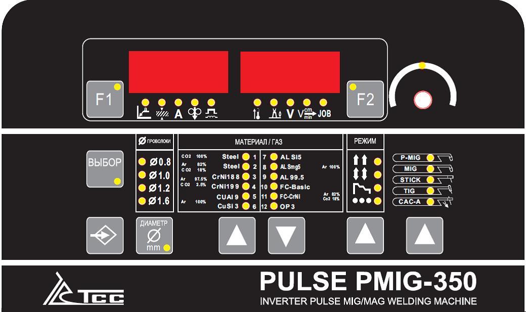 Сварочный инвертор ТСС PULSE PMIG-350