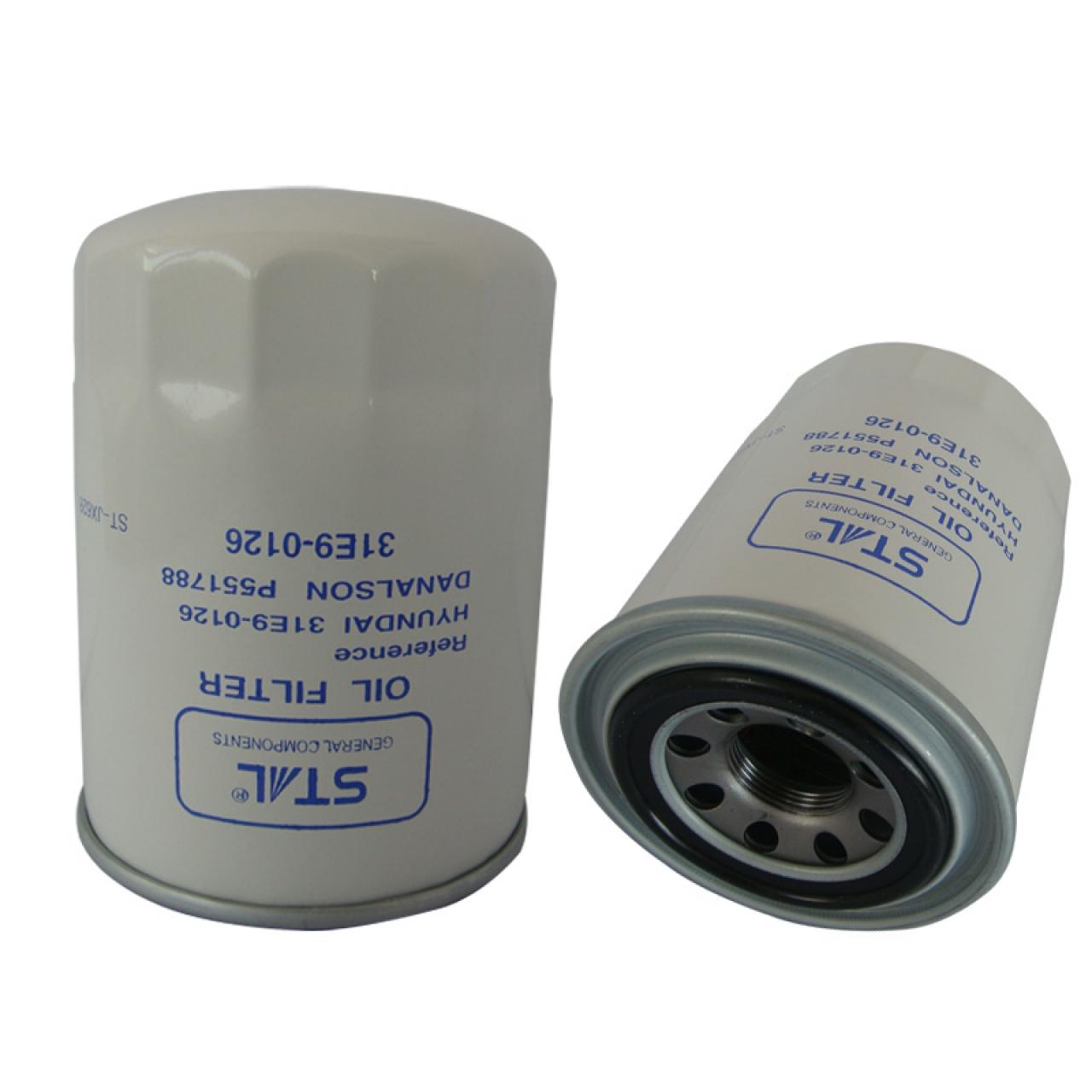 Фильтр гидравлический 31E9-0126 (4363399/HC 7901) для Hyundai