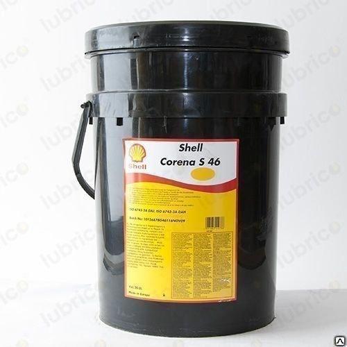 Shell Corena 46 масло для винтовых компрессоров