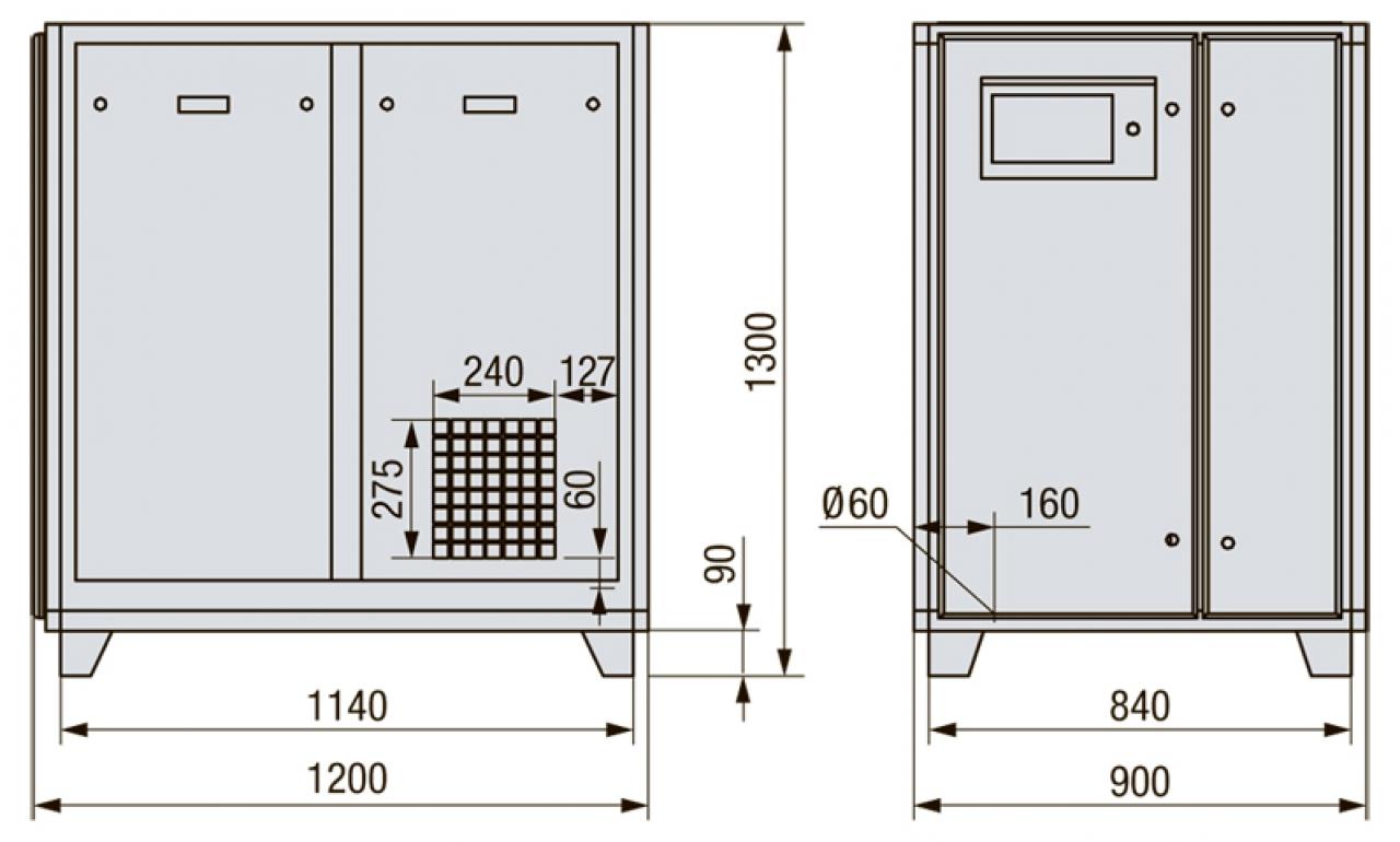 SB 30-12 Винтовой компрессор
