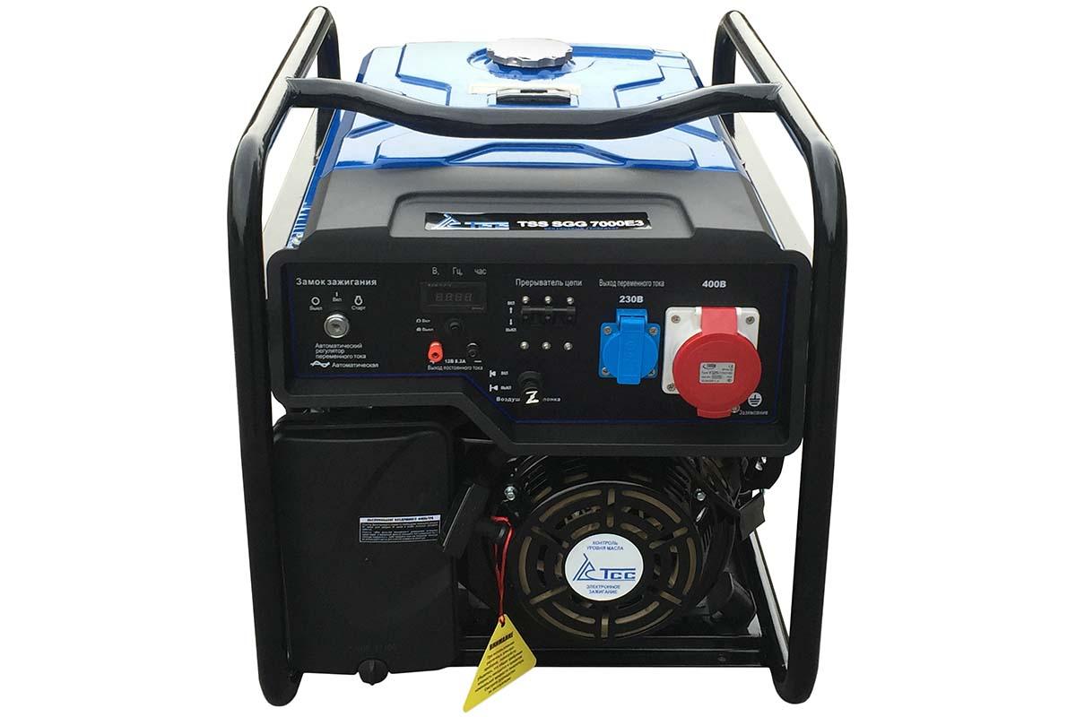 Бензогенератор TSS SGG 7000 E3
