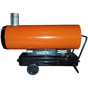 Тепловая пушка дизельная непрямого нагрева ПрофТепло ДН-52Н апельсин