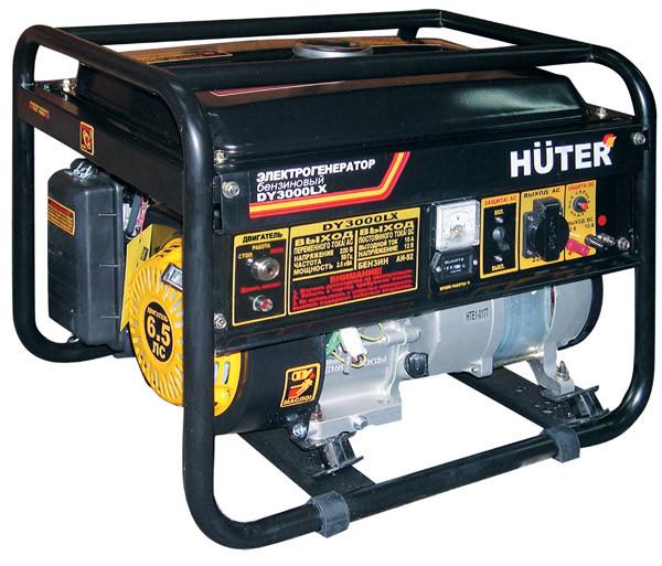 Бензогенератор HUTER DY3000LX с электростартером