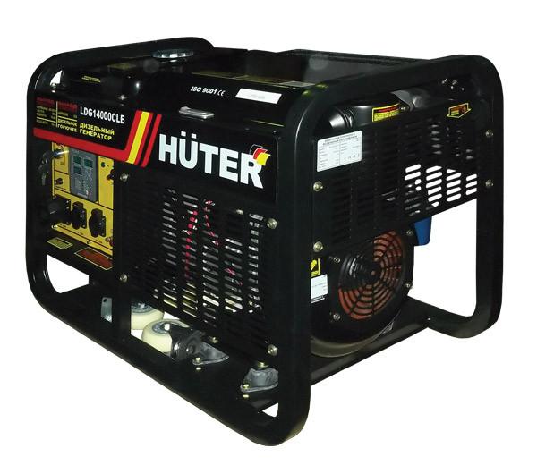 Дизельгенератор HUTER LDG14000CLE Дизельная электростанция