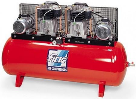 Компрессор поршневой с ременным приводом Fiac ABT 500-1700 10 бар ТБ Тандем