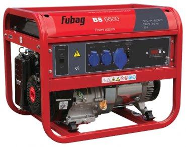 Бензиновая электростанция Fubag BS 6600