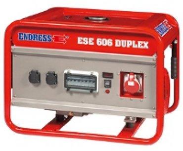 Бензиновая электростанция ENDRESS ESE 606 DSG-GT/A ES Duplex