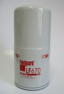 LF670 масляный фильтр Fleetguard