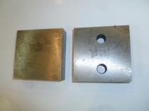 Нож для резчика арматуры ТСС GQ-50 (90х90х26 мм,2 М16) (комплект из 2-х деталей)