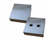 Нож для резчика арматуры ТСС GQ-40 (490226) (к-т из 2-х деталей,2отверстия М14х2,83х83х26мм)