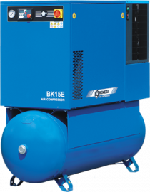 Винтовой компрессор Ремеза (Remeza) Ремеза BK15E-8(10/15)-500 ДВС с осушителем и частотником