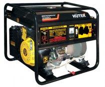 Бензогенератор HUTER DY6500LX с электростартером и пультом