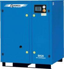 Винтовой компрессор Ремеза (Remeza) BK20-8(10/15) ДВС с осушителем и частотником