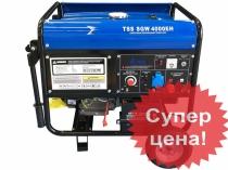Сварочный бензогенератор, Бензиновая электростанция с функцией сварки TSS SGW 4000EH.